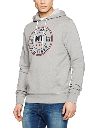 cca48d523dcaaf Tommy Hilfiger Men's Hoodie - Exclusively for Amazon: Amazon.co.uk: Clothing