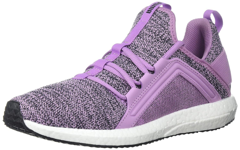PUMA Women's Mega Nrgy Knit Wn Sneaker B071X77KH1 7.5 B(M) US Smoky Grape-puma Black