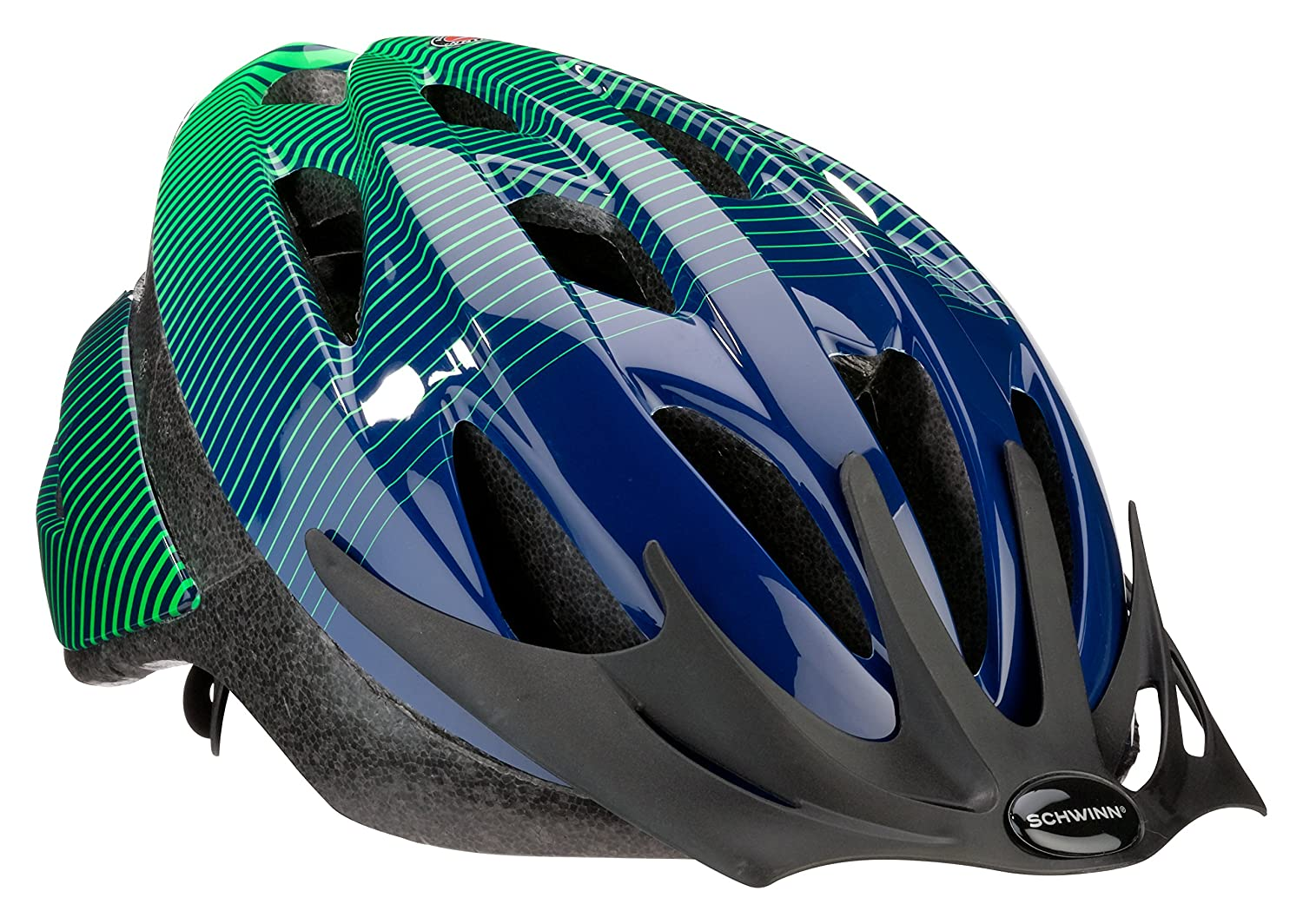 Schwinn Thrasher Lightweight Microshell Bicycle Helmet Featuring 360 Degree Comfort System with Dial-Fit Adjustment and Children Sizes for Adults Youth