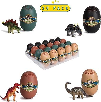 Amazon.com: Rompecabezas miniatura 3D de dinosaurios en ...
