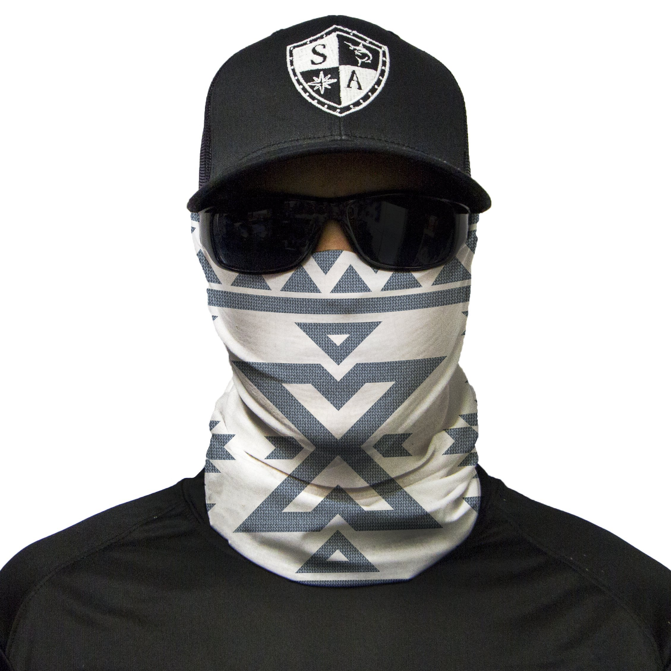 S A 1 Face Shield AZTEC Face Shield, SA Face Shield for Men and Face Shield for Women - UV Face Shield by S A