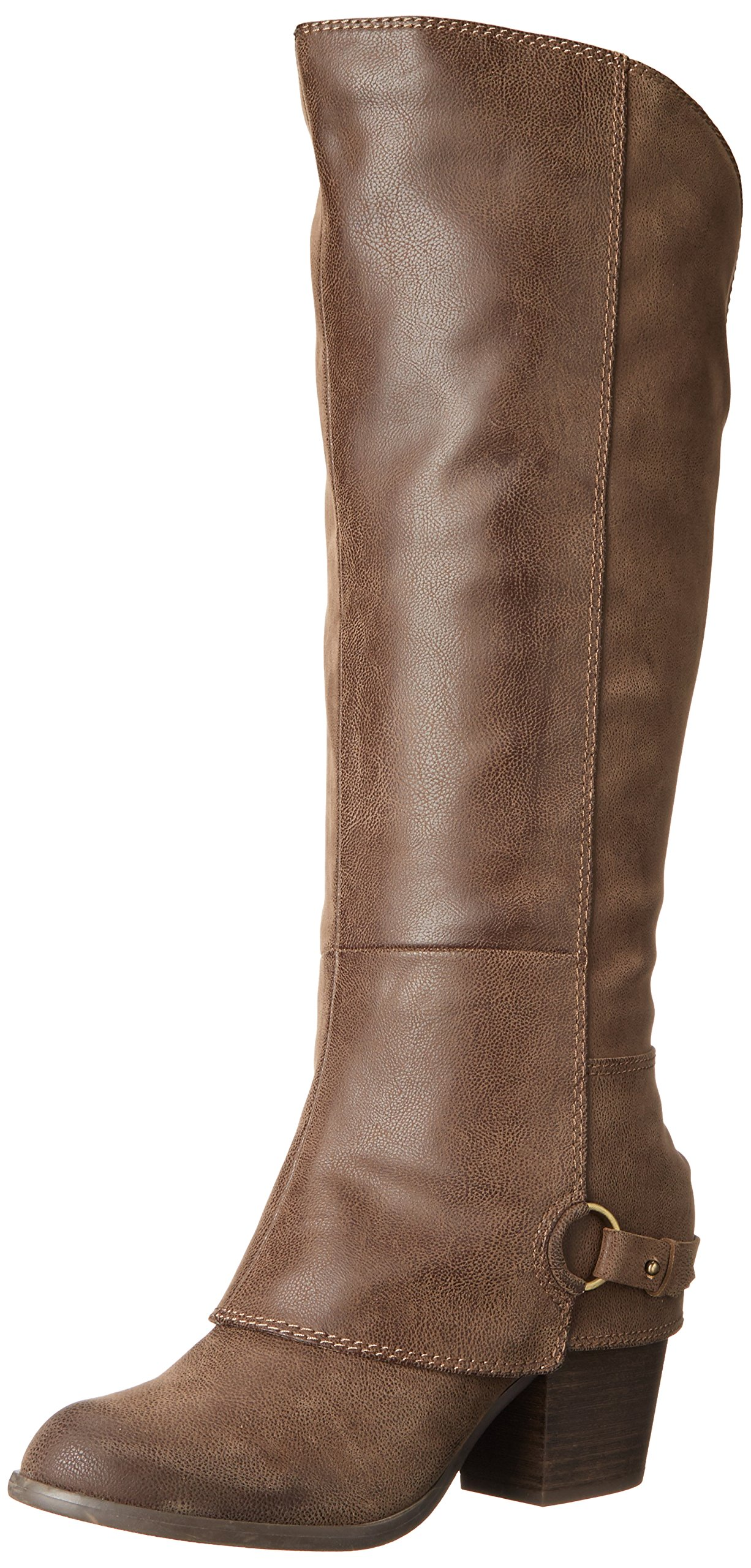 Fergalicious Women's Lexy Harness Boot,Taupe WC, 7.5 M US