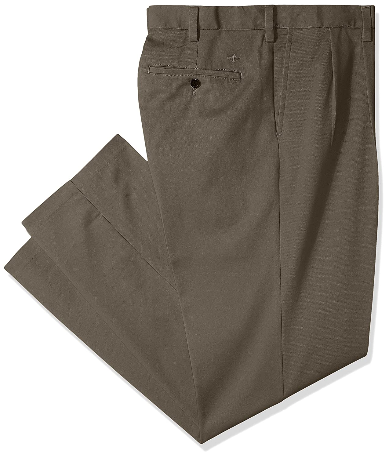 Dockers Mens Big and Tall Classic Fit Easy Khaki Pants-Pleated
