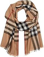 Burberry Check Wool Silk Scarf 220 X 70cm-variation