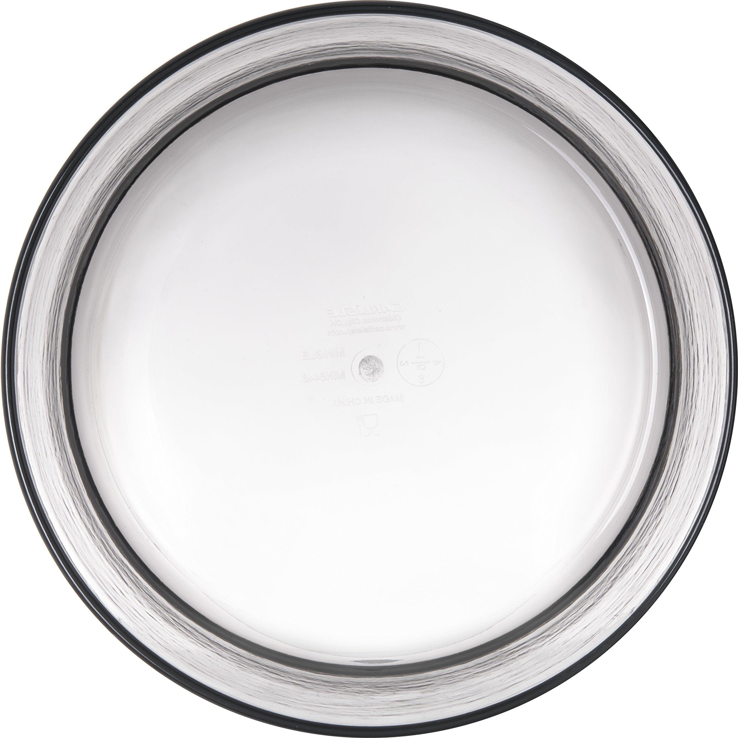 Carlisle MIN544618 Mingle Serving Bowl, 10'', Tritan, Smoke (Pack of 4) by Carlisle (Image #2)