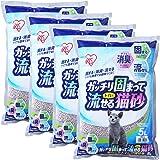 アイリスオーヤマ ガッチリ固まってトイレに流せる猫砂 5L×4袋 GTN-5L