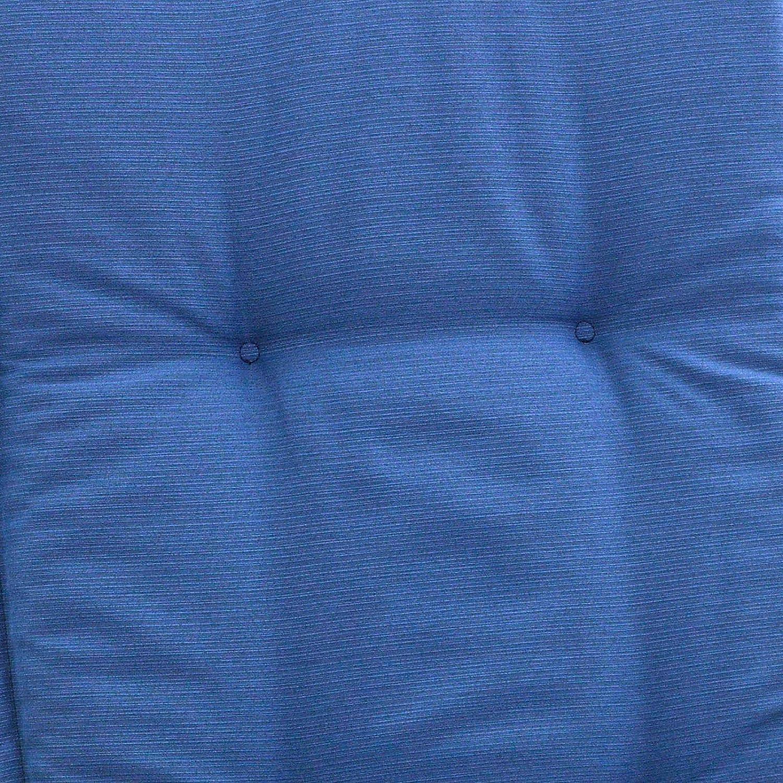 Amazon.de: Bankauflagen 150 x 49 x 6 cm Rio 50318-110 in uni blau ...