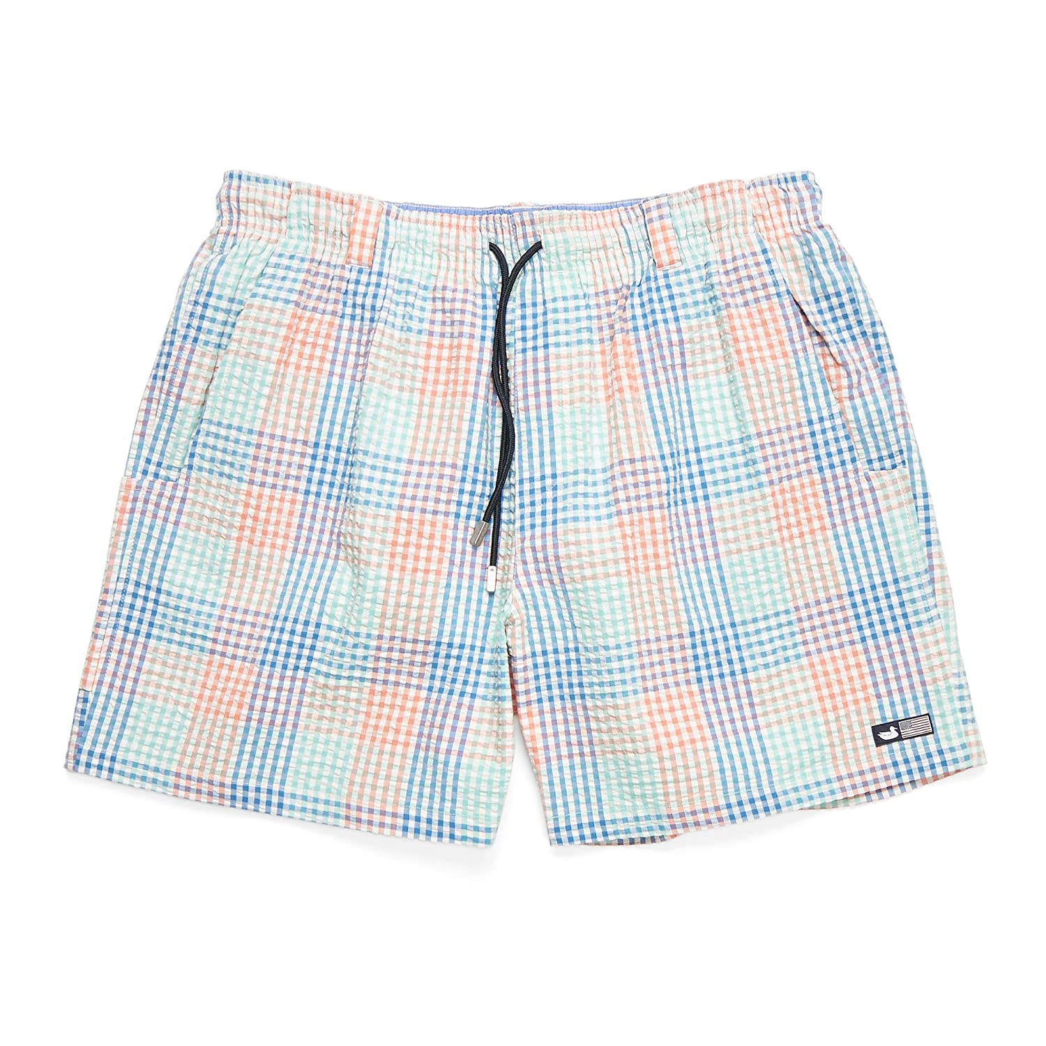 9954204189 Southern Marsh Dockside Swim Trunk - Seersucker Gingham | Amazon.com
