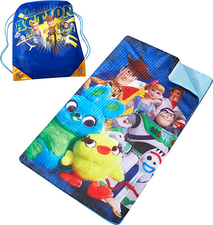 Disney Toy Story 4 Sleeping Bag Woody or Jessie With Pillow /& Carry Bag Primark