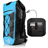 Outdoor Foundry 100% Waterproof Backpack - Dry Bag Closure - Optional Laptop Sleeve - 35L - Padded Back and Straps
