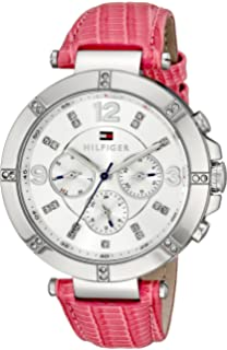 Tommy Hilfiger Womens 1781537 Sport Lux Analog Display Quartz Pink Watch