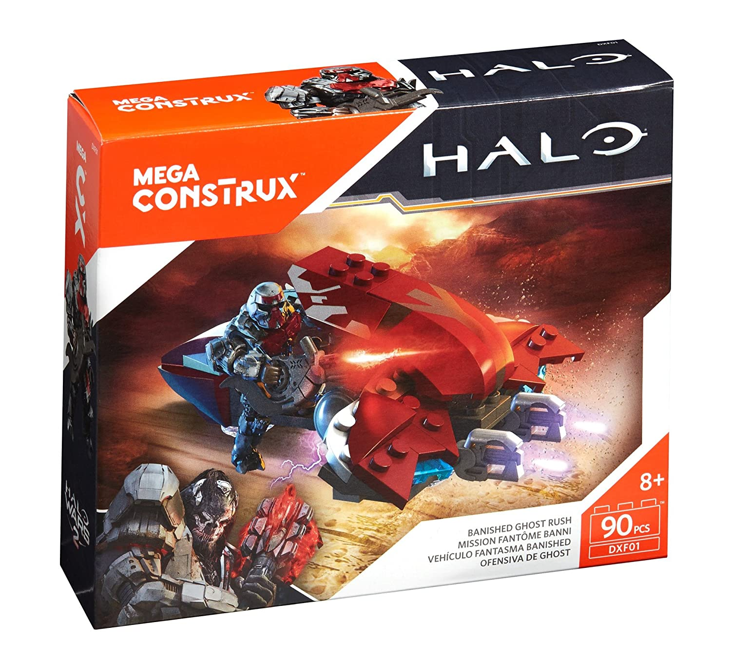 Mega Construx Halo Banished Ghost Rush Building Set Mattel DXF01 Accessory Consumer Accessories