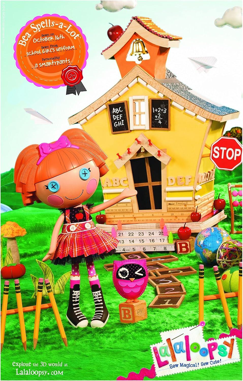 Amazon Com Lalaloopsy Doll Bea Spells A Lot Toys Games