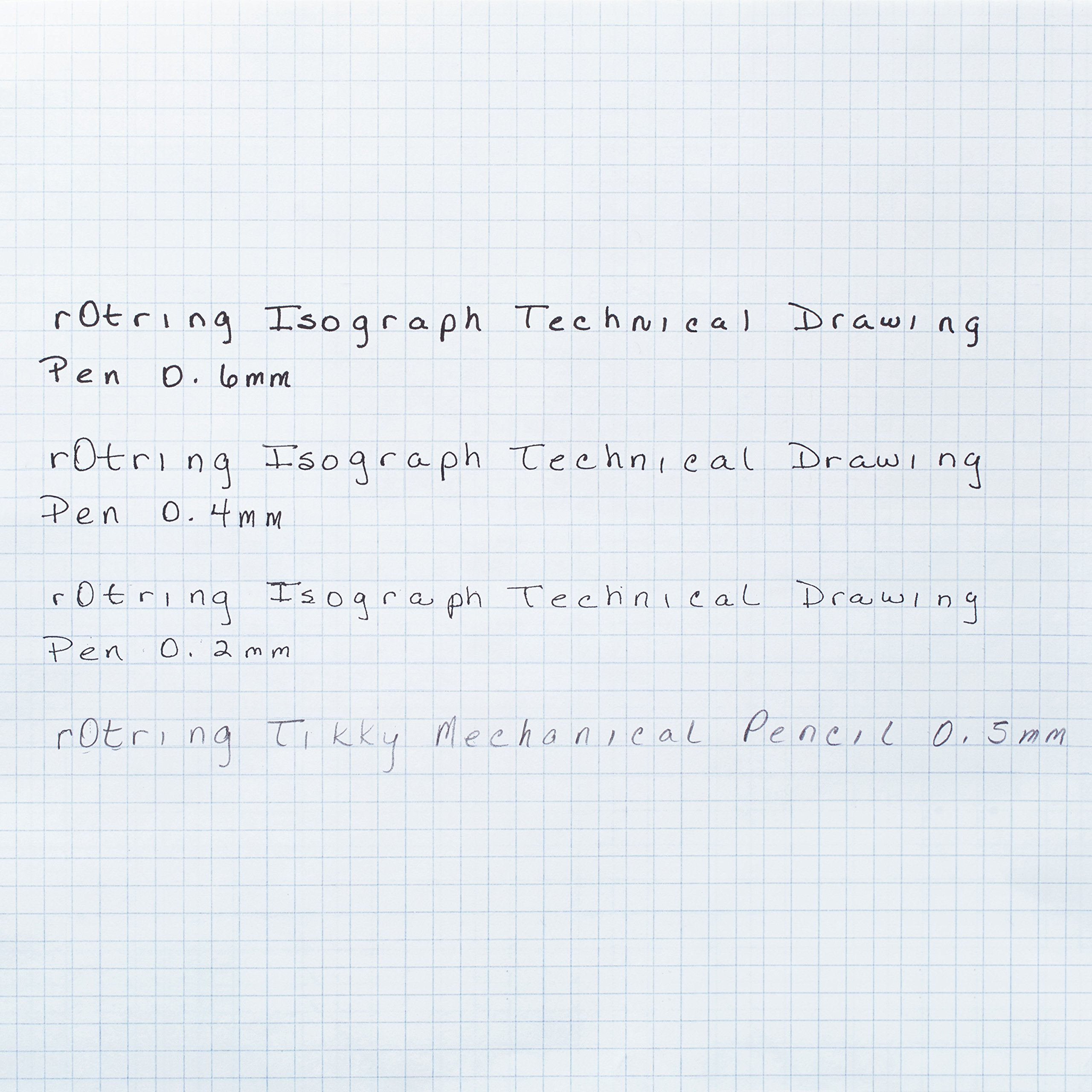 rOtring Isograph Technical Drawing Pens, Set, 3-Piece College Set (.20-60 mm) by Rotring (Image #3)