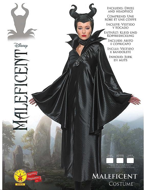Blancanieves - Disfraz de Bruja Maléfica para mujer, Talla S adulto (R888838-S)