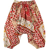 lovemeels Harem Hareem Pantalones para Niños - Genie Pants para Niñas