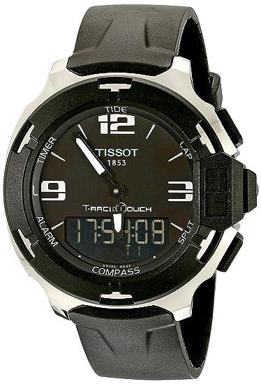 Tissot T081.420.17.057.01 - Reloj de Pulsera Hombre, Caucho, Color Negro: Tissot: Amazon.es: Relojes