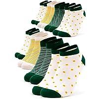 Occulto 8 pares de Calcetines para Mujer | Calcetines para Zapatos de Verano para Mujer |…