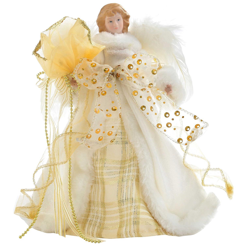 a forma di angelo Puntale per albero di Natale Image 1