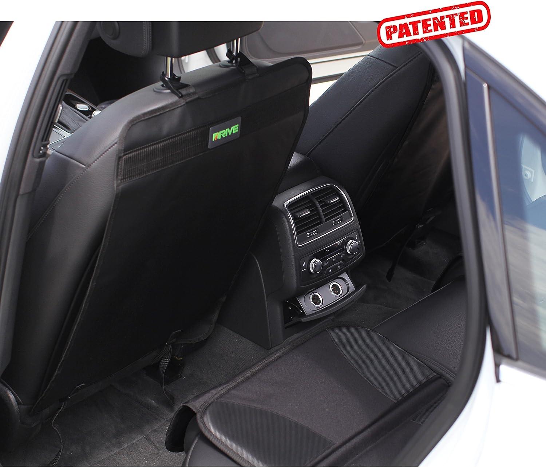 Drive Auto Products Autositzschutz f/ür Baby mit Hundedecke 2er Pack Schwarz