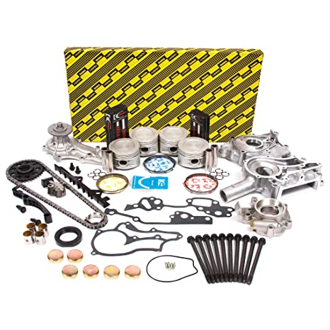 Evergreen OK2000M/0/0/0 85-95 Toyota 2 4L SOHC 8V 22R 22RE 22REC Master  Overhaul Enigne Rebuild Kit