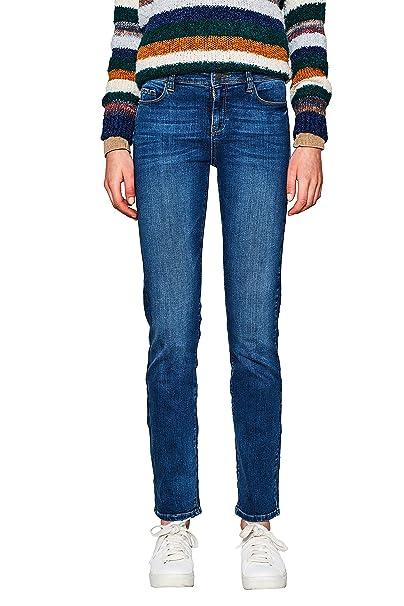 Einzelhandelspreise bis zu 60% sparen angenehmes Gefühl ESPRIT Women's Stretch Jeans in Straight Line: Amazon.ca ...