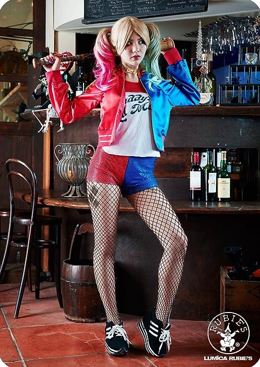 Amazon.com: Rubies Costume Co Womens Suicide Squad Deluxe Harley Quinn Costume, Multi, Medium: Clothing