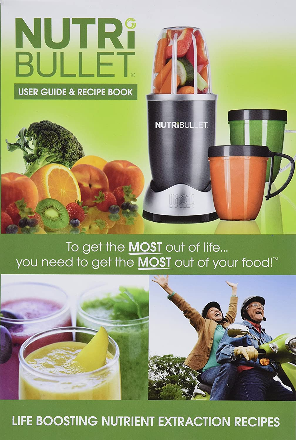 Amazon nutribullet user guide recipe book pocket amazon nutribullet user guide recipe book pocket nutritionist nutribullet kitchen dining forumfinder Image collections
