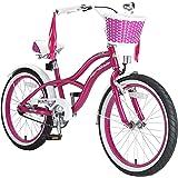 BIKESTAR® Premium Vélo pour enfants à partir d'env. 6 ★ Edition Deluxe Cruiser 20 ★ Couleur Lilas