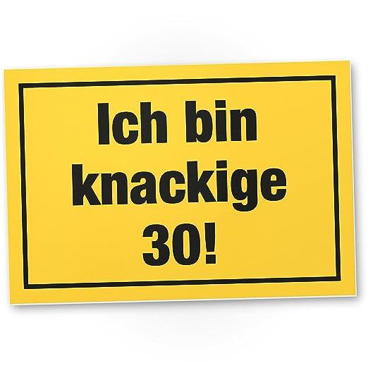DankeDir!. Ich Bin deliciosas 30 años, plástico Cartel - 30 ...