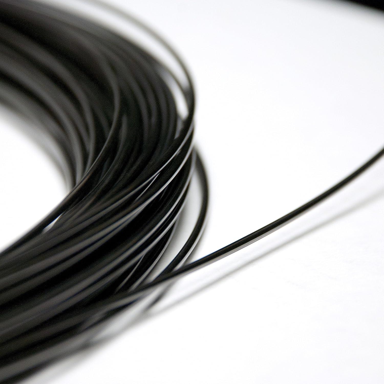 NiTi 2mm (12AWG) ° (40ºC Nitinol memoria di forma della lega Muscle Wire dal piede, 2.0 mm 40ºC, 500 2.0 mm 40ºC Nexmetal