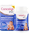 """""""Conceive Plus Men's Fertility Support 60 Caps: Multivitamin Multimineral Food Supplement For Male Sperm Health Motility Vegetarian Fertility Pills To Boost Sexual Health, Semen quality"""