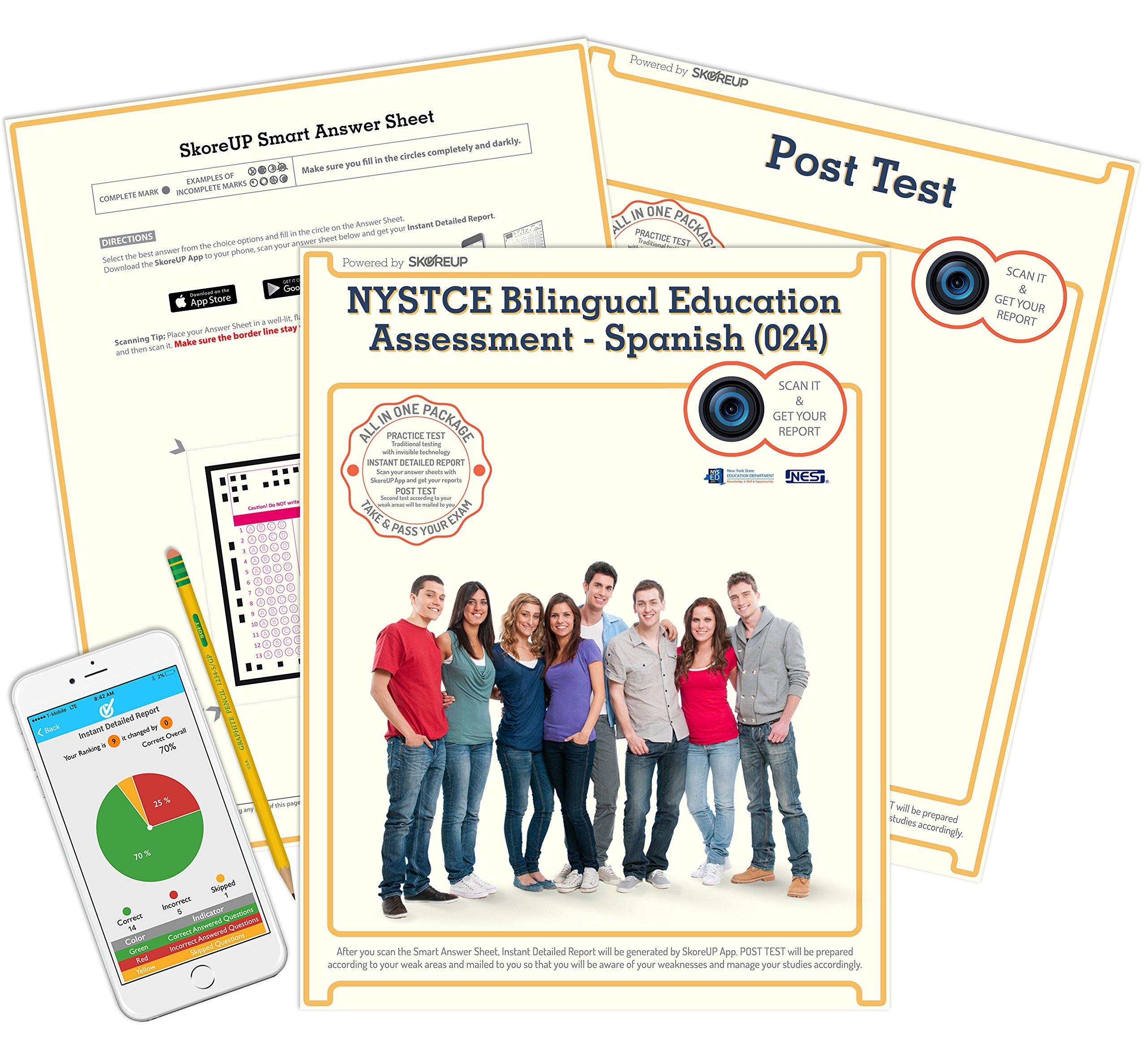 Nystce Bilingual Education Assessment Spanish 024 Test New York