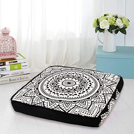 Indio Mandala tapiz, perro o gato cama, Boho Decor, hecho a mano suelo