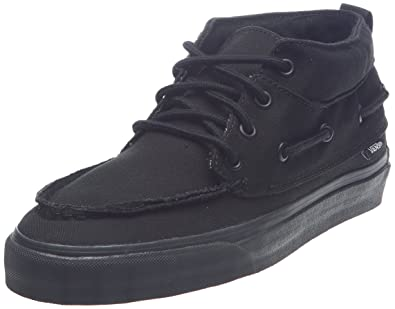 0b062b1b4b8 Vans Men s Shoes Chukka Del Barco Black Sneakers (6.5)