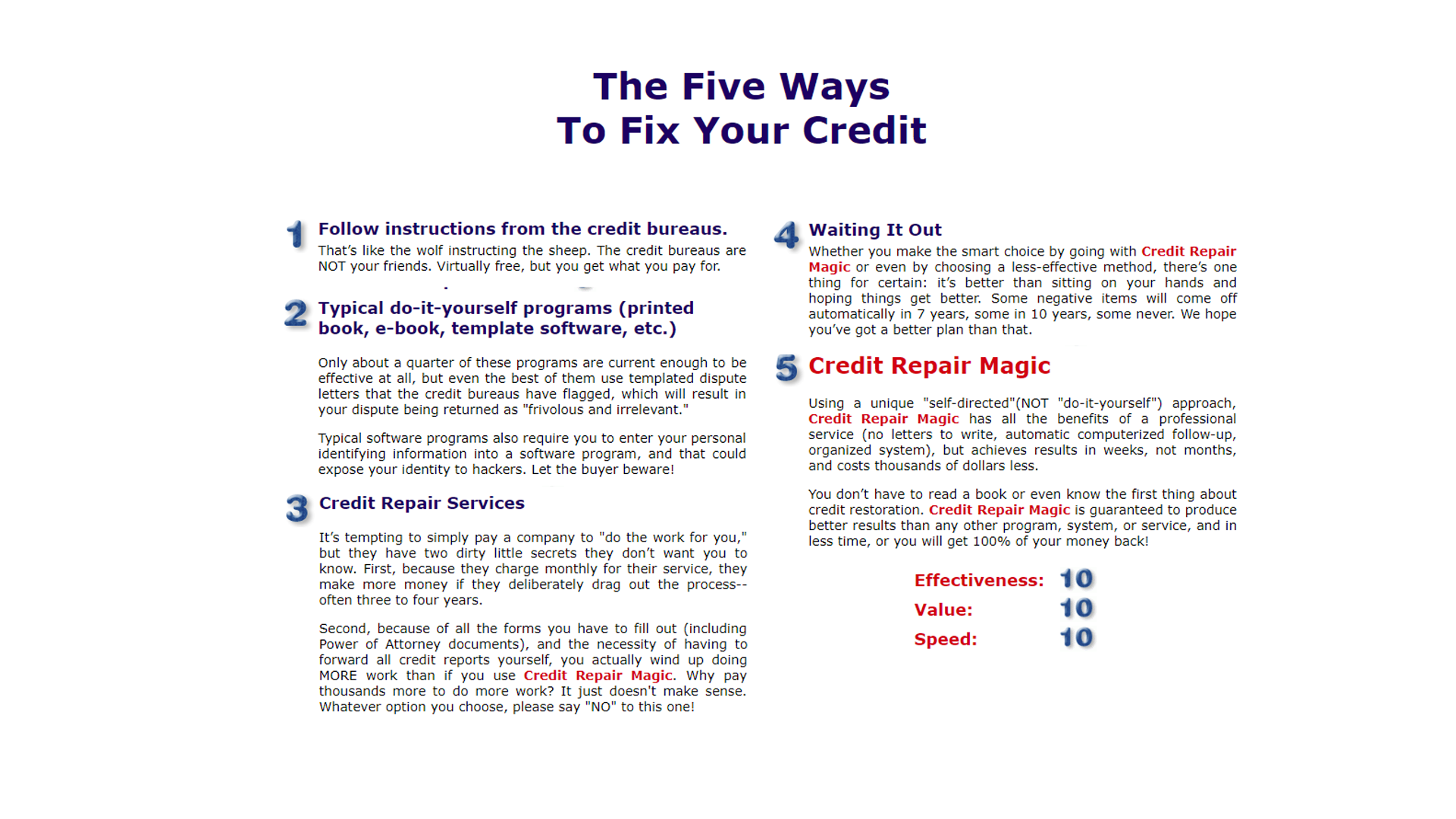 Amazon credit repair magic credit score free credit report 000 solutioingenieria Gallery