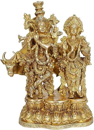 Radha Krishna – Brass Statue