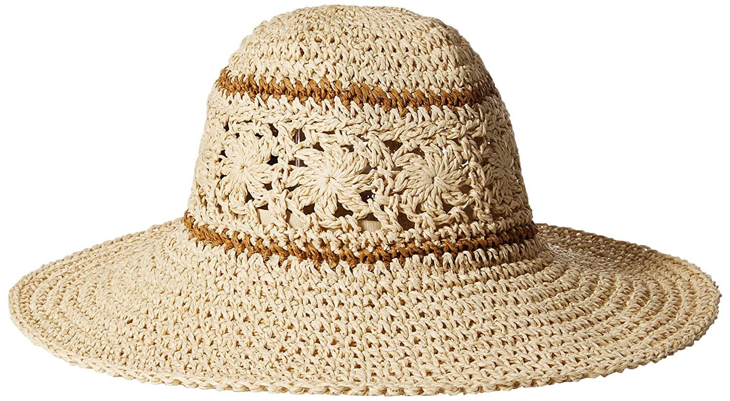 O'Neill Juniors' Sunny Wide-Brim Paper Hat