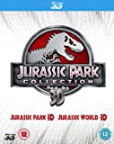 Double Pack: Jurassic Park 3D + Jurassic World 3D [Blu-ray] [2015] [Region Free]