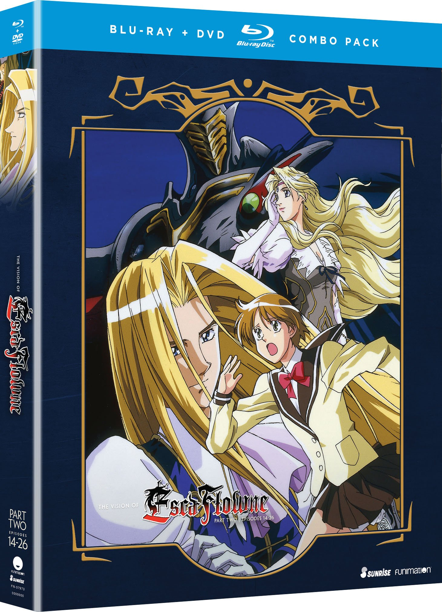Blu-ray : The Vision Of Escaflowne: Part Two (With DVD, 4 Disc)
