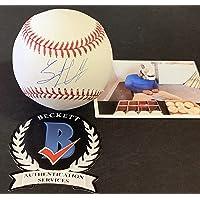 $54 » Trent Grisham San Diego Padres Autographed Signed Official Major League Baseball BECKETT WITNESS COA