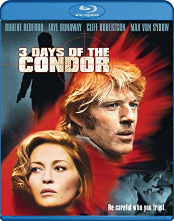 3 Days Of The Condor Blu Ray