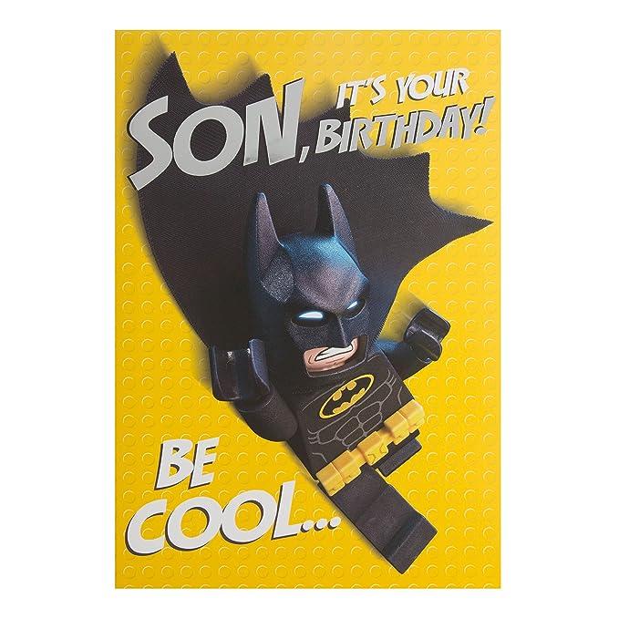 Hallmark - Tarjeta Pop Up Lego Batman tarjeta de ...