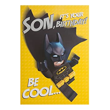Amazon.com: Hallmark – Tarjeta Pop Up Lego Batman tarjeta de ...