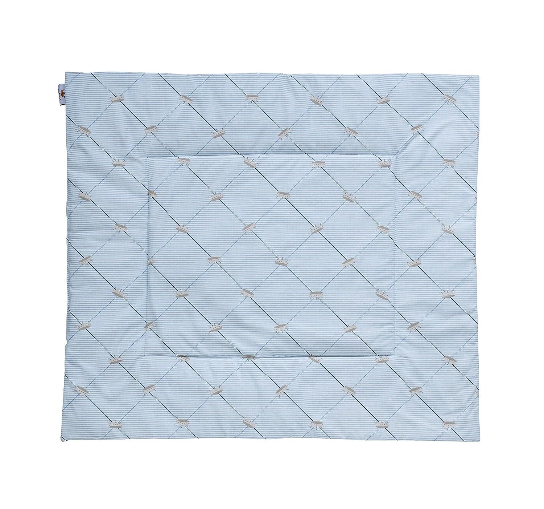 Nicolientje Playpen Mat (Blue, 90 X 100cm) 700363