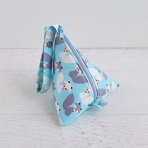 03ab73c09ee Amazon.com  Blue Plush Pacifier Holder for Boys Fox Woodland Baby ...