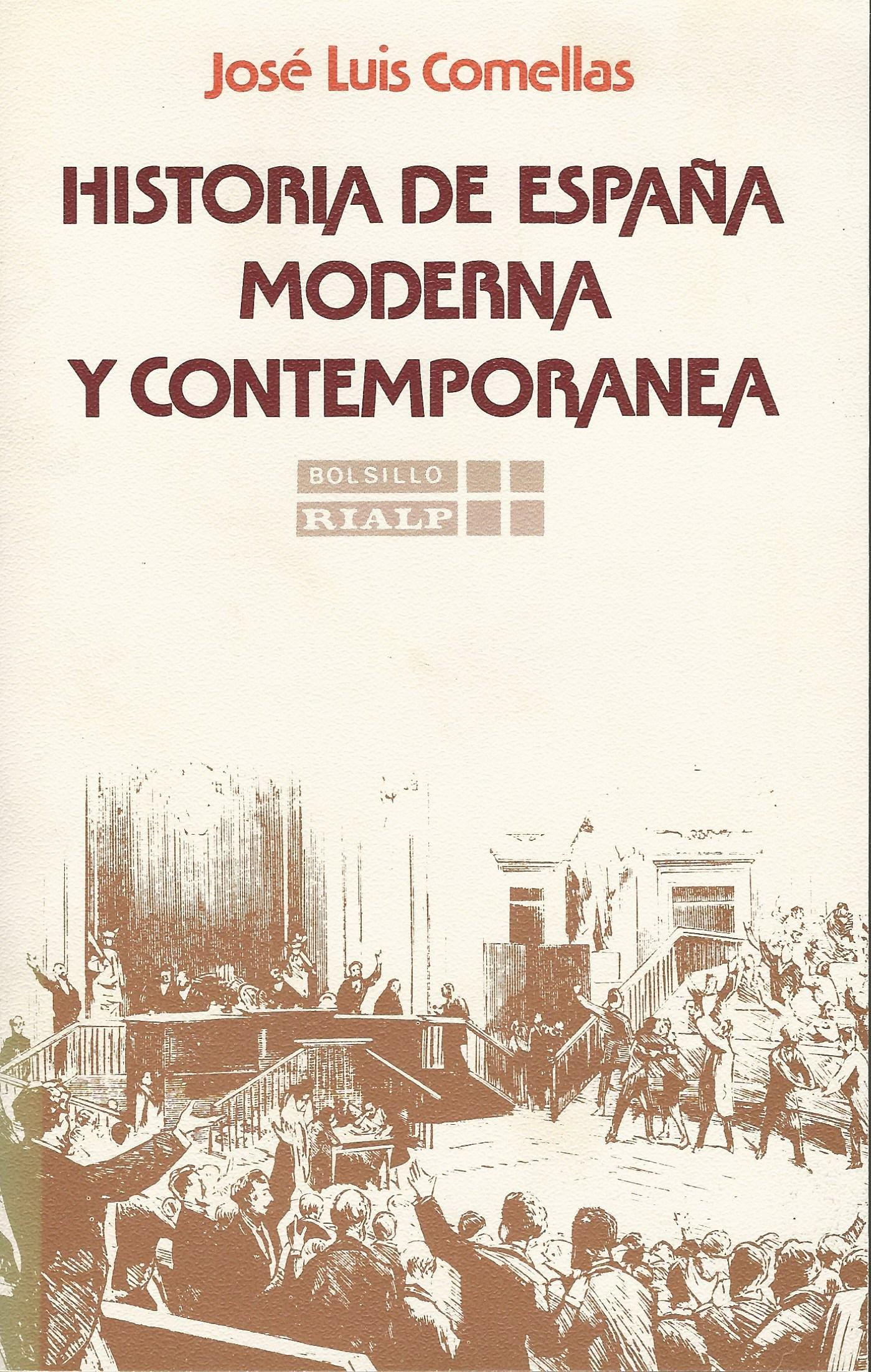 Historia de España moderna y contemporanea: Amazon.es: Comellas ...