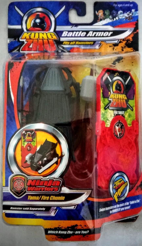 Kung Zhu Fire Chunin Ninja Armour by Zhu Zhu Pets: Amazon.es ...
