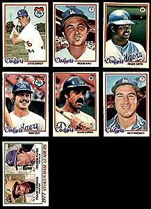 1978 O-Pee-Chee Los Angeles Dodgers Near Team Set Los Angeles Dodgers (Set) NM Dodgers