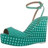 Castañer Zula/125, Chaussure à Semelle Compensée Femme
